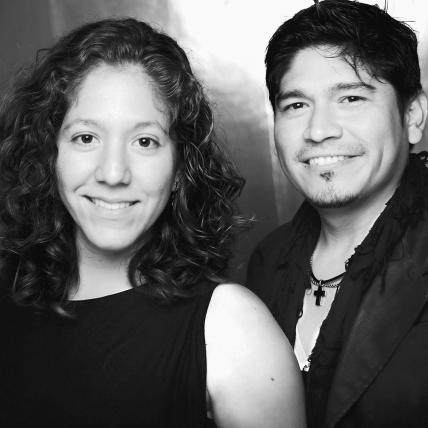 Claudia Weis y Carlos Tapia Chávez