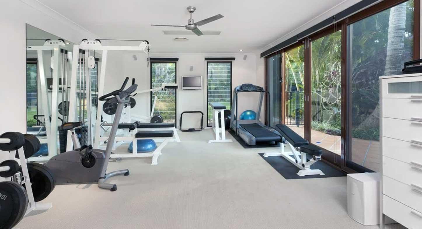 ¿Cuáles son las mejores cortinas para gimnasio en casa?