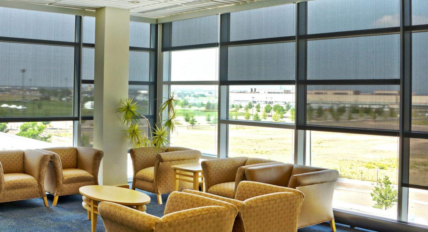 ¿Cuáles son las tendencias para las cortinas de oficina?
