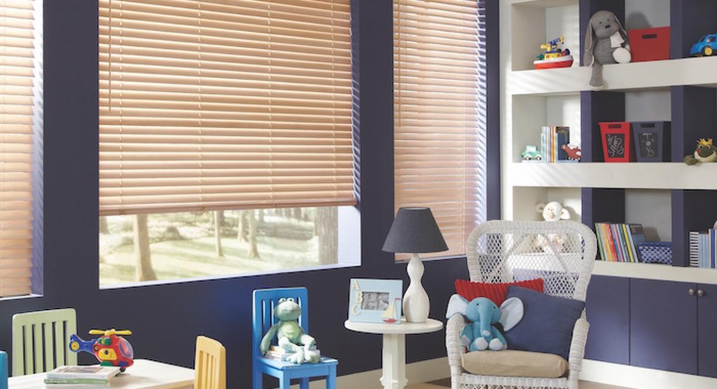 Modelos de cortinas y persianas para la habitación de los niños