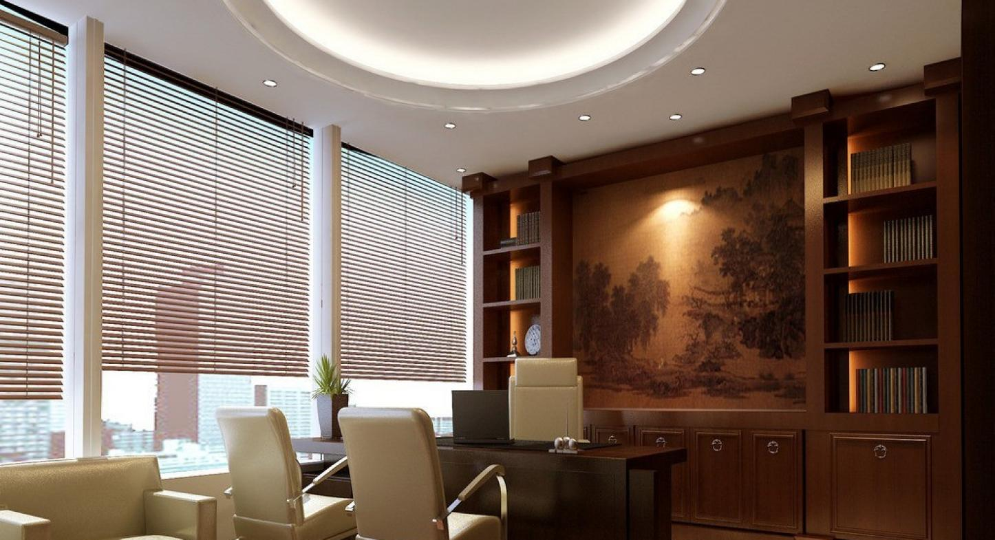 Persianas para oficina y decoraci n del espacio laboral - Cortinas para oficinas ...