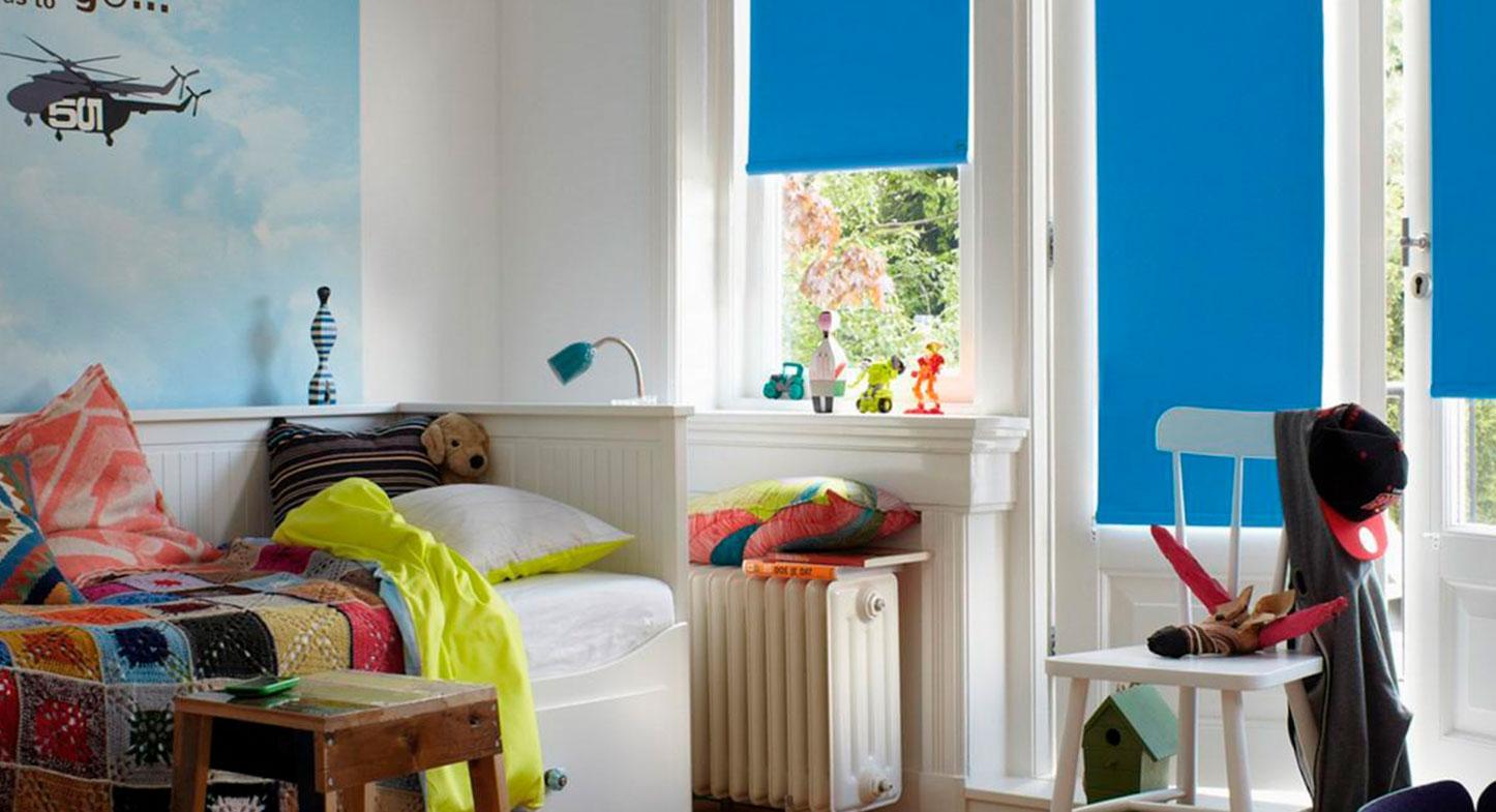 Qué modelo de cortina elegir para el cuarto del bebé
