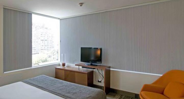 Uso de Cortinas Duette en Hotel Best Western Premier