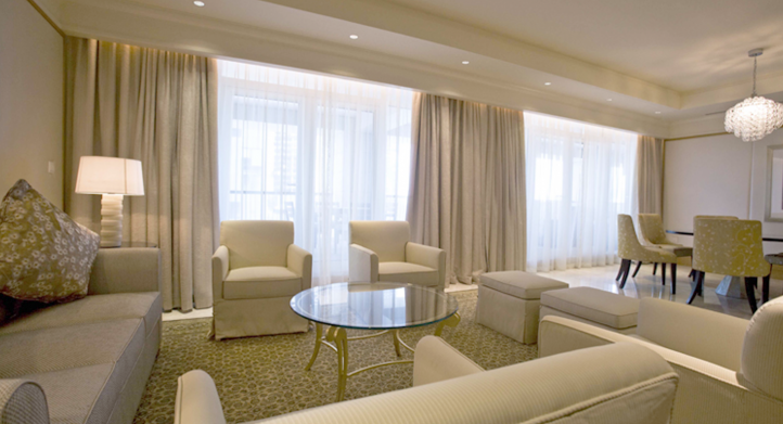 Cortina Duette en Armani Hotel