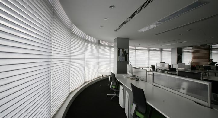 Uso de Cortinas Silhouette en Euro America Center