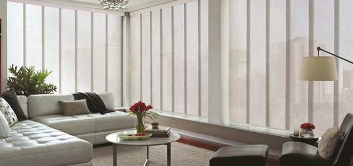 Beneficios de adquirir un panel japonés o Panel Glide de Hunter Douglas