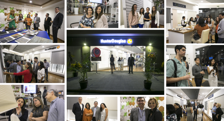 Inauguración del Primer Design Center Hunter Douglas de Perú