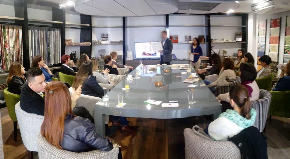 Hunter Douglas presenta workshop para diseñadores y decoradores
