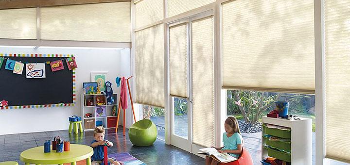 063d4fcef Modelos de cortinas y persianas para la habitación de los niños ...