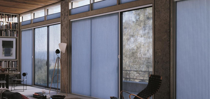 Hunter Douglas cortinas duette invierno