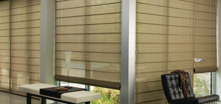 Hunter Douglas cortinas romana invierno