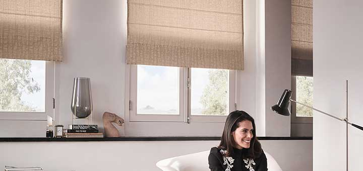Cortinas Romanas de Hunter Douglas