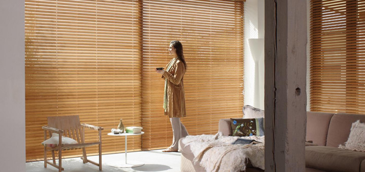 Hunter Douglas persiana material