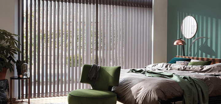 Hunter Douglas cortinas ventanas vertical