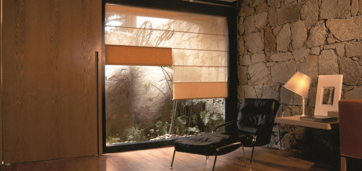 Hunter Douglas cortinas romanas